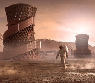 NASA's Mars habitat challenge gives glimpse of life on the Red Planet