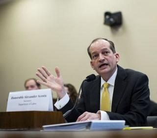 Senate Democrats ask DOJ for findings of probe into Acosta's conduct in Epstein case