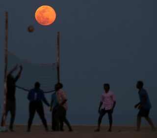 'Pink moon' 2019: How April's full moon got its nickname