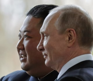 Putin meets with Kim in hopes he can help resolve nuclear standoff