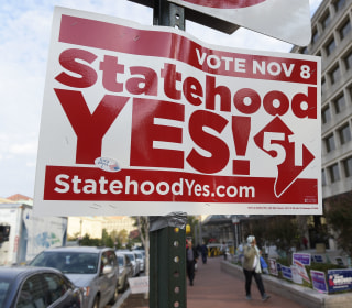 New push for Washington, D.C., statehood hits the presidential campaign trail