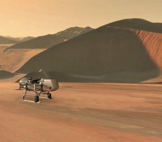 NASA to send robotic 'dragonfly' drone to Saturn moon Titan