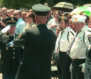 A Vietnam vet with no close family died: Hundreds of people packed his Michigan funeral