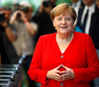 Germany's Angela Merkel expresses 'solidarity' with Democratic congresswomen