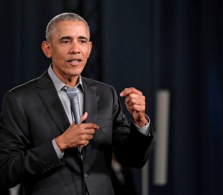 In veiled shot at Trump, Obama urges rejection of leaders who feed 'climate of fear and hatred'