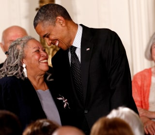 Toni Morrison defended, championed and chastised presidents