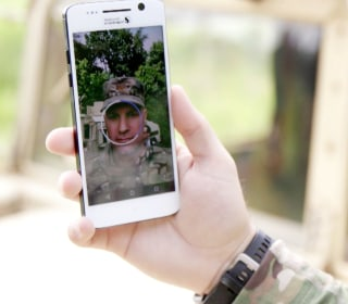 A military prototype smartphone hints at the risks of biometric security