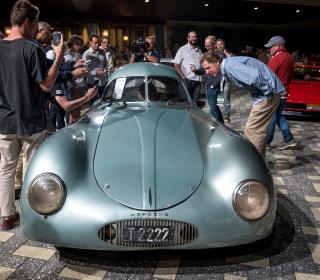 $20M Porsche auction dissolves into chaos after Dutch auctioneer's accent confuses bidders