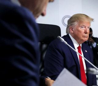 Trump says talks with China continue amid escalating trade war