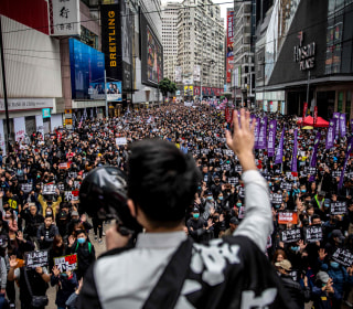 400 protesters in Hong Kong arrested after thousands join New Year's Day rally