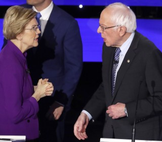 A '#NeverWarren' hashtag portended a Democratic squabble. Data showed otherwise.
