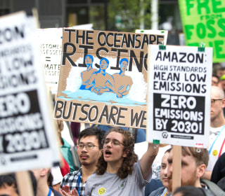 Hundreds of Amazon employees go public over company's communications and climate policies
