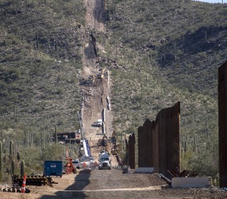 Ancient Native American burial site blasted for Trump border wall construction
