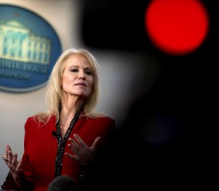 Kellyanne Conway says Trump 'works hand in glove' with Barr