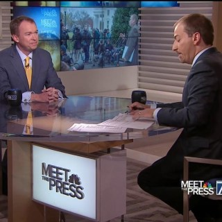 OMB Director Mick Mulvaney: Washington's 'A Lot More Broken' Than Trump Thought
