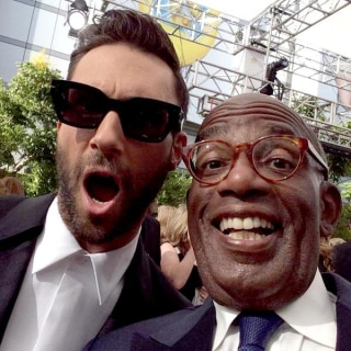 Smile! Al Roker Snaps Selfies With Stars at the Emmys