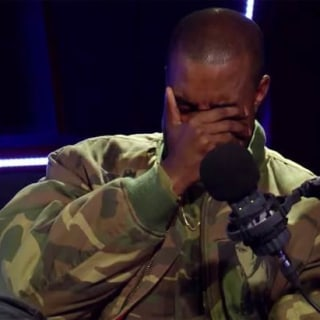 Kanye West Breaks Down in Tears During Interview