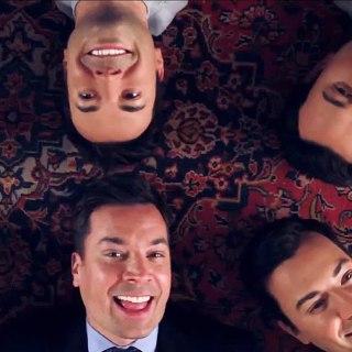 Watch Jimmy Fallon Croon 'Barbara Ann' With Wax Dummies of Himself