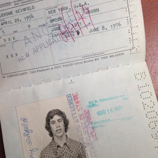 Jerry Seinfeld Wins Throwback Thursday With 1971 Passport Photo