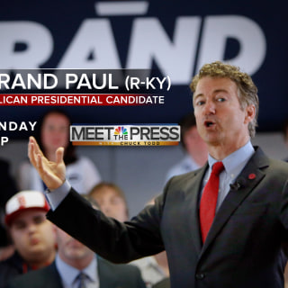 Sunday on MTP: Sen. Rand Paul (R-KY)