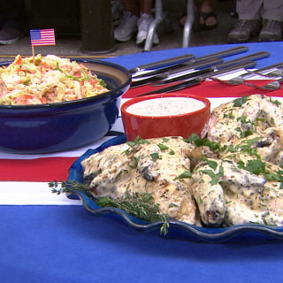 Sunny Anderson Shows Off Spicy BBQ Chicken Recipe