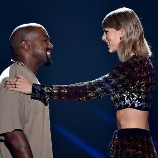 Taylor Swift Presents Kanye With MTV Vanguard Award