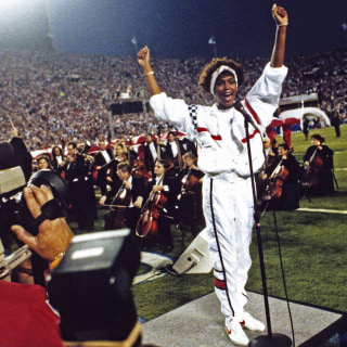 Whitney Houston's Brother Reflects on Her 1991 Super Bowl Performance