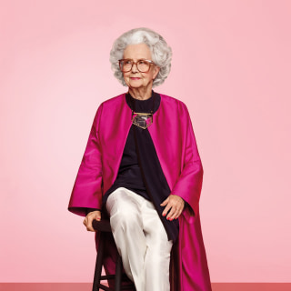 British Vogue Features 100-Year-Old Model in Centennial Issue