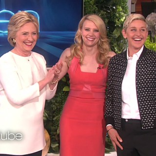 Watch Kate McKinnon Impersonate Ellen DeGeneres and Hillary Clinton to Their Faces