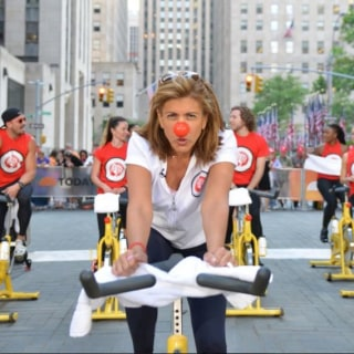 Red Nose Day: TODAY Harnesses Pedal Power For Kids in Need