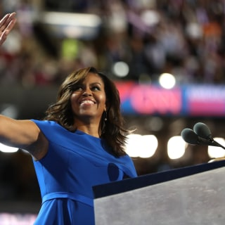 Michelle Obama Makes Emotional Appeal for Hillary Clinton