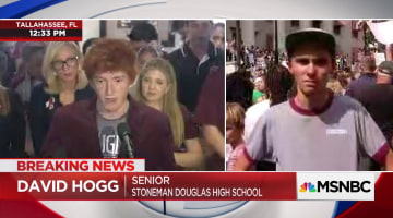 Change Conspiracies Nbc Actor' On - Is David News Coming Hogg Regardless 'crisis