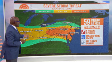 Weather News Photos Videos On Natural Disasters Severe Weather - Us-weather-today-map