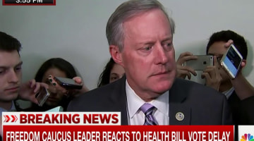 Meadows: We Don't Have Enough 'Yes' Votes to Pass Health Care Bill