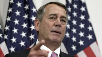 Boehner: Trump's Term 'Disaster,' Aside From Foreign Affairs