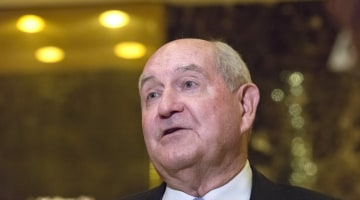 Donald Trump Taps Former Georgia Gov. Sonny Perdue as Secretary of Agriculture