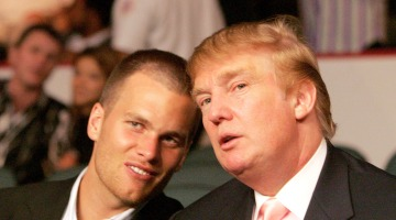 Patriot-ism: President Trump's Many Reasons to Root for New England Buddies in Super Bowl