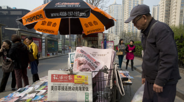 China's Global Times: Hawkish by Decree or Reflecting Readers?