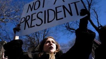'Not My President's Day': Thousands Plan Anti-Trump Rallies Across U.S.