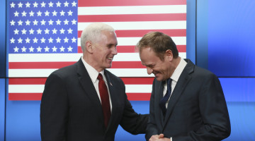 Pence Seeks to Calm European Jitters Over Trump