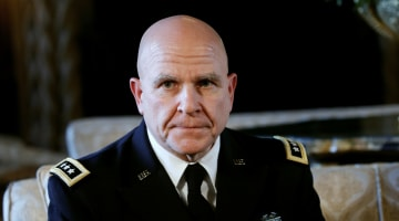 Who Is Trump's New National Security Adviser Lt. Gen. H.R. McMaster?