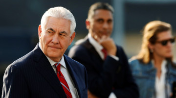 Sec. Tillerson Pledges 'No Mass Deportations' During Convos With Mexico's Leaders