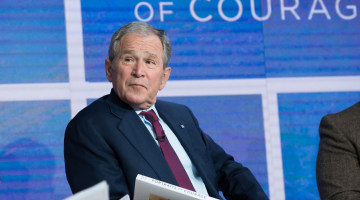 George W. Bush: Free Press 'Indispensable to Democracy'