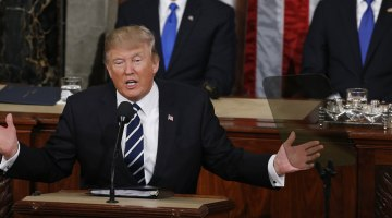 Donald Trump Teases Immigration Shock, Backs Off in Speech