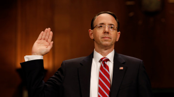 Senate Confirms Deputy Attorney General in Charge of Russia Probe