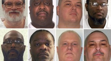Arkansas Executions: Judge Blocks 1, Won't Stop 7 Others Set for 10-Day Span