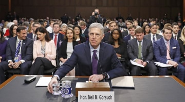 Follow Neil Gorsuch's Supreme Court Confirmation Hearing LIVE