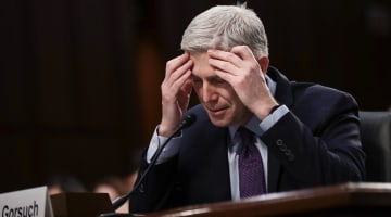 Gorsuch: Trump Attacks on Federal Judges 'Disheartening,' 'Demoralizing'