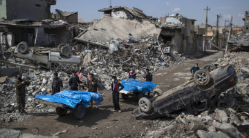 General Says U.S. 'Probably Had a Role' in Killing Mosul Civilians