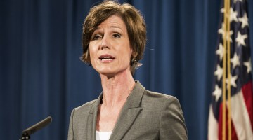 White House Denies Claims That Former Attorney General Sally Yates' Testimony Was Blocked